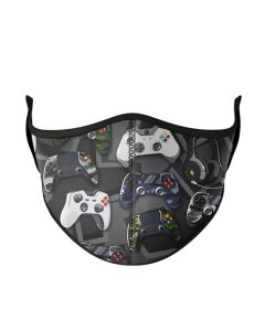 Small Image for KID MASK AGES 3-7~GREY GAMER
