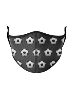 Small Image for ONE SIZE MASK AGES 8+~SOCCER B