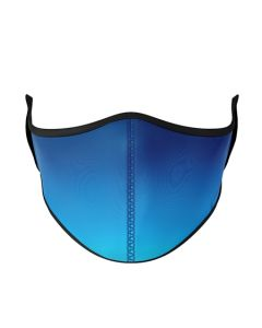 Small Image for ADULT MASK BLUE OMBRE