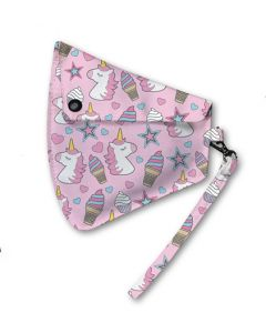 Base Image for CLIP ON MASK POUCH~UNICORN ICE