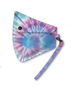 Base Image for CLIP ON MASK POUCH~ICE TIE DYE