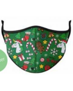Base Image for KID MASK AGES 3-7~CHRISTMAS