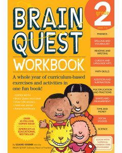 Small Image for BRAIN QUEST WORKBOOK~GRADE 2