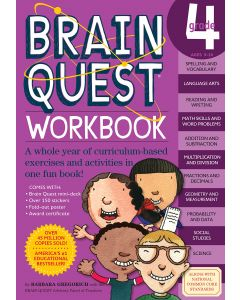 Small Image for BRAIN QUEST WORKBOOK~GRADE 4