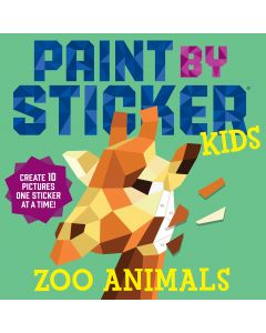 Small Image for PAINT BY STICKER KIDS~ZOO ANIM