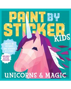 Small Image for PAINT BY STICKER KIDS~UNICORNS