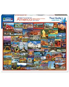 BEST PLACES IN AMERICA  1000PC