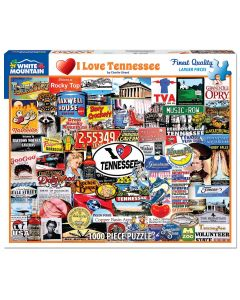I LOVE TENNESSEE 1000PC  PUZZLE