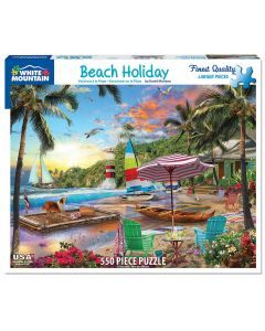 BEACH HOLIDAY 550PC  PUZZLE